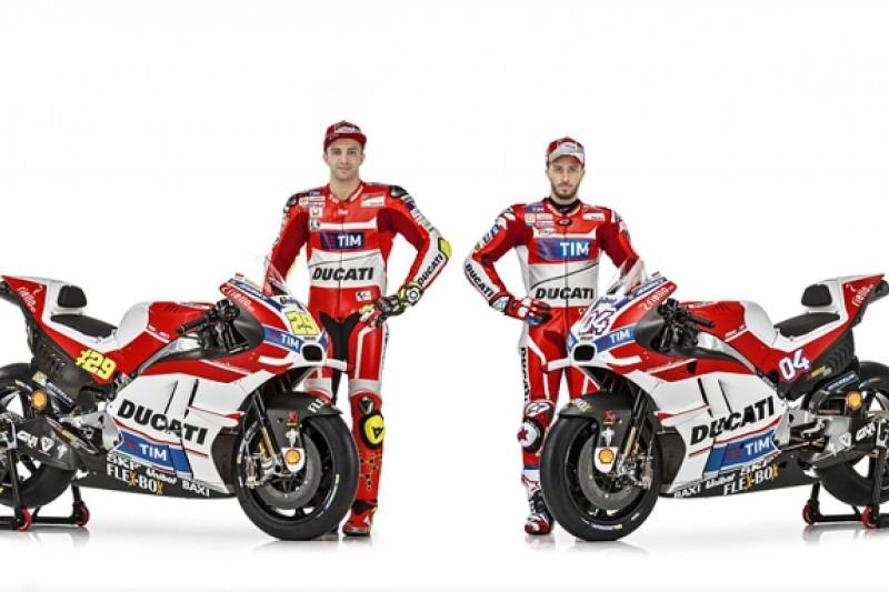 Ducati launches 2016 Desmosedici GP MotoGP bike