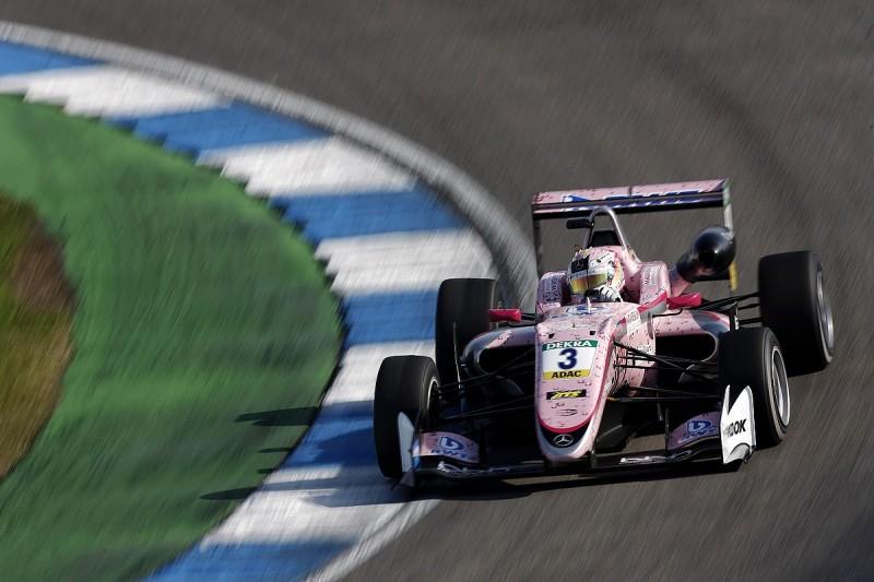 Euro F3 Hockenheim: Gunther denies Ilott triple pole for finale