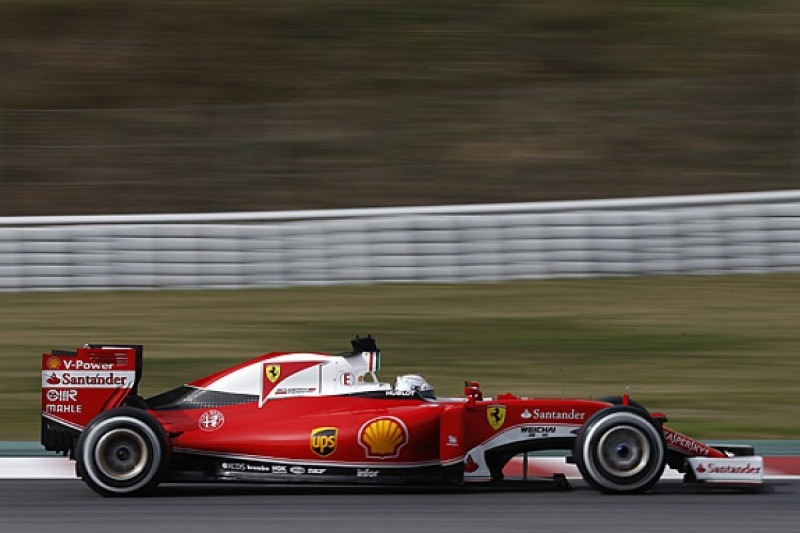 F1 testing: Ferrari's Sebastian Vettel 'very positive' after first day