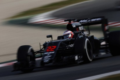 McLaren's Button happy with Honda's F1 progress but wants more