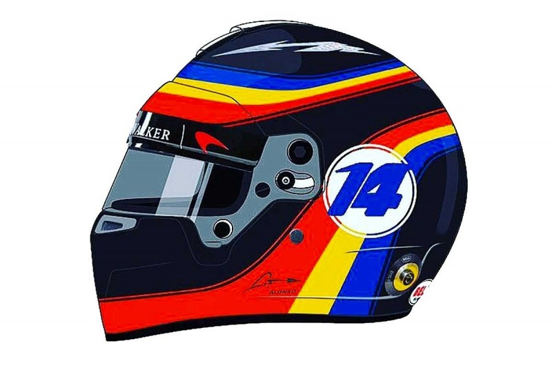Fernando Alonso to run Indy 500 retro helmet in F1's US GP
