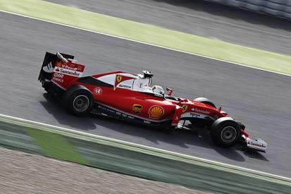 Barcelona F1 test: Sebastian Vettel and Ferrari lead first morning