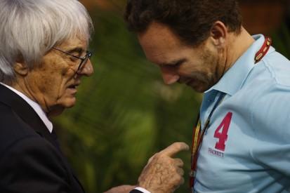 Red Bull F1 boss Horner senses Bernie Ecclestone's 'frustration'