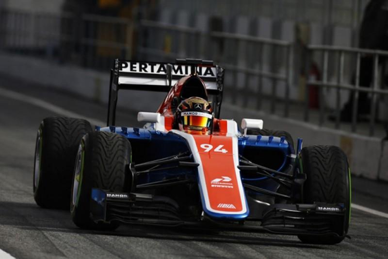 Manor Racing introduces new MRT05 Formula 1 car in Barcelona test