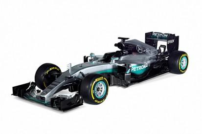 Mercedes reveals its 2016 Formula 1 car, the F1 W07 Hybrid