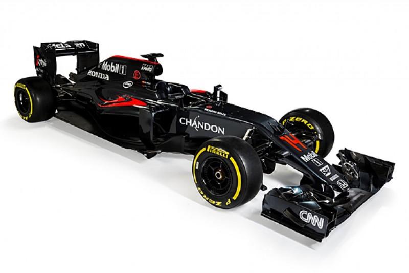 McLaren launches Honda-powered MP4-31 2016 Formula 1 car