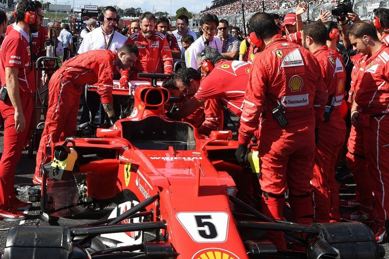 Ferrari working on shake-up to improve F1 quality control