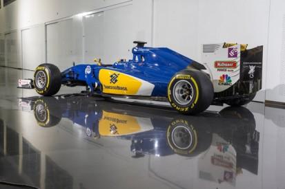 Sauber reveals 2016 Formula 1 livery