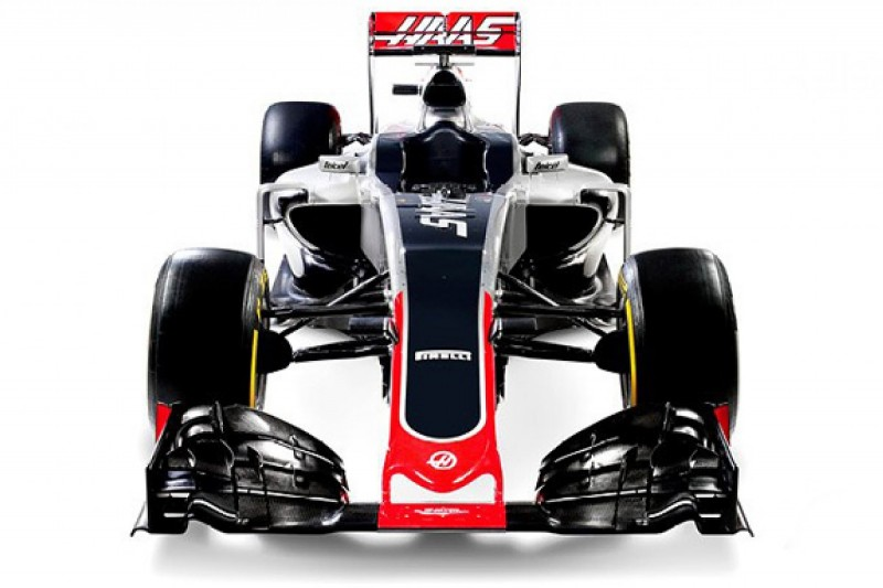 Haas unveils maiden Formula 1 car, the VF-16