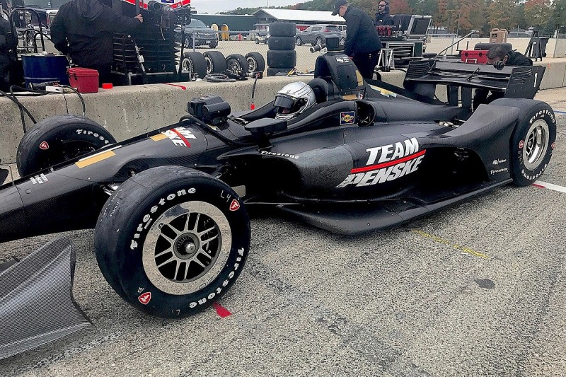 IndyCar manufacturers Honda, Chevrolet begin 2018 aerokit testing