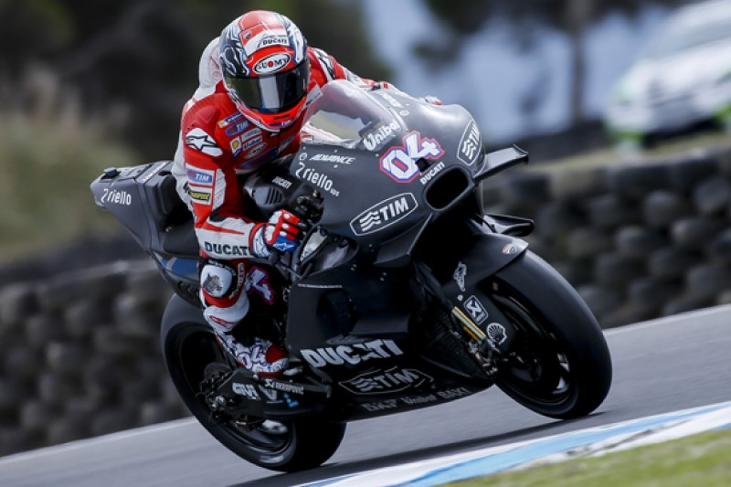 Ducati's Dovizioso and Iannone shrug off low-key MotoGP test pace