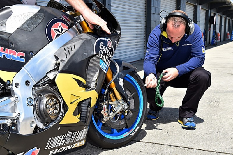 Michelin settles on new MotoGP front tyre profile after tests