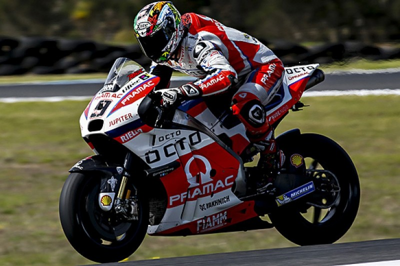 Danilo Petrucci could miss MotoGP opener after Phillip Island crash