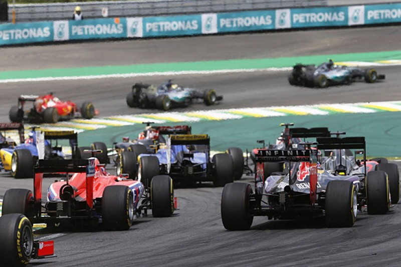Formula 1 on brink of 'last chance' cut-off for 2017 rules revamp