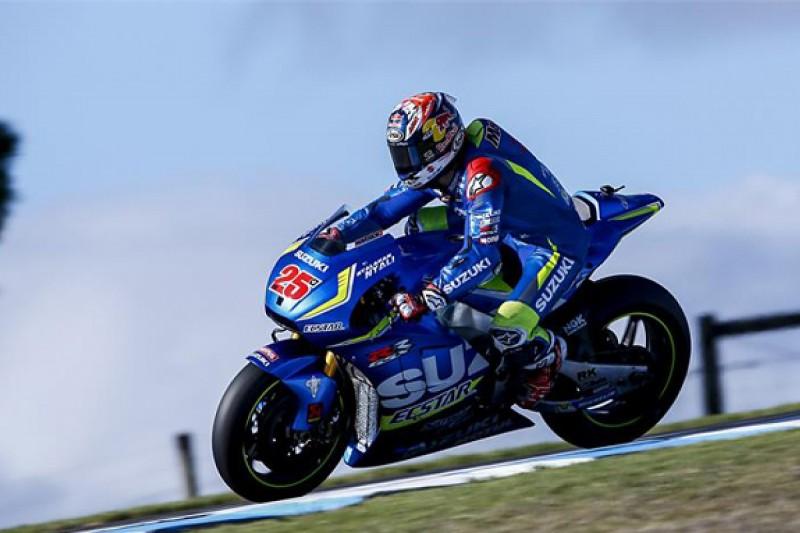 Suzuki's Vinales pips Honda's Marquez in Phillip Island MotoGP test