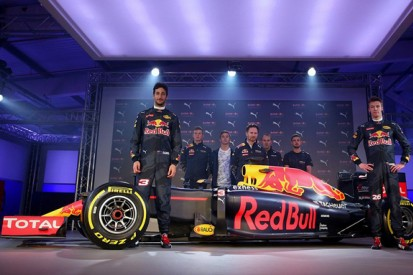 Red Bull Racing unveils new-look livery for 2016 F1 season
