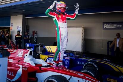 Ferrari junior Charles Leclerc dedicates F2 title to late father