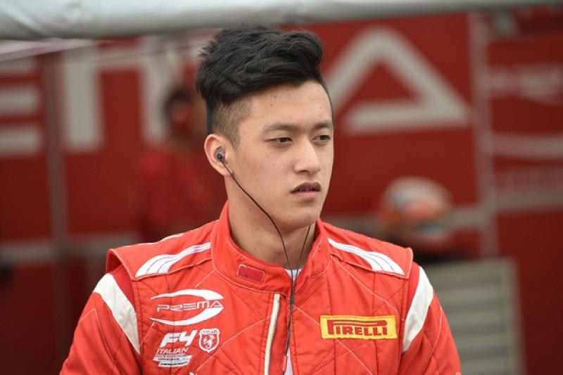 Ferrari protege Guan Yu Zhou gets Motopark European Formula 3 seat