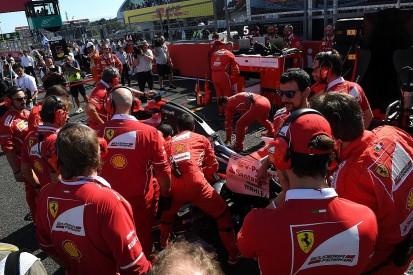Japanese GP: 'Hurt' Vettel says he must 'protect' Ferrari
