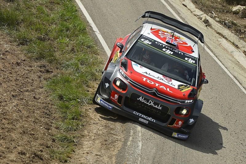 WRC Catalunya: Meeke closes on victory as Neuville retires