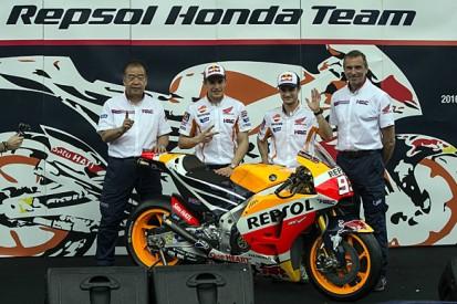 Honda officially unveils 2016 MotoGP bike in Indonesia