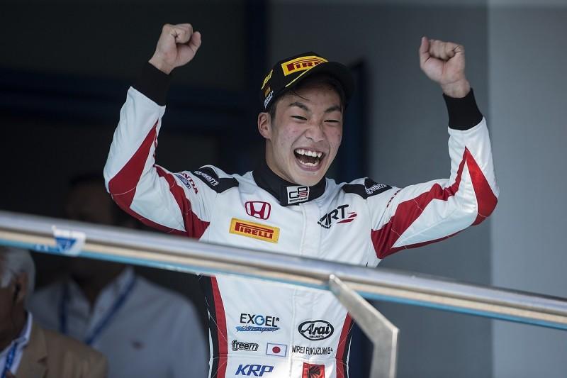 Jerez GP3: Fukuzumi takes lights-to-flag race one victory at Jerez