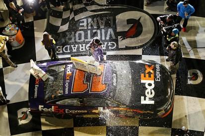 NASCAR Sprint Unlimited: Denny Hamlin wins in 'overtime'