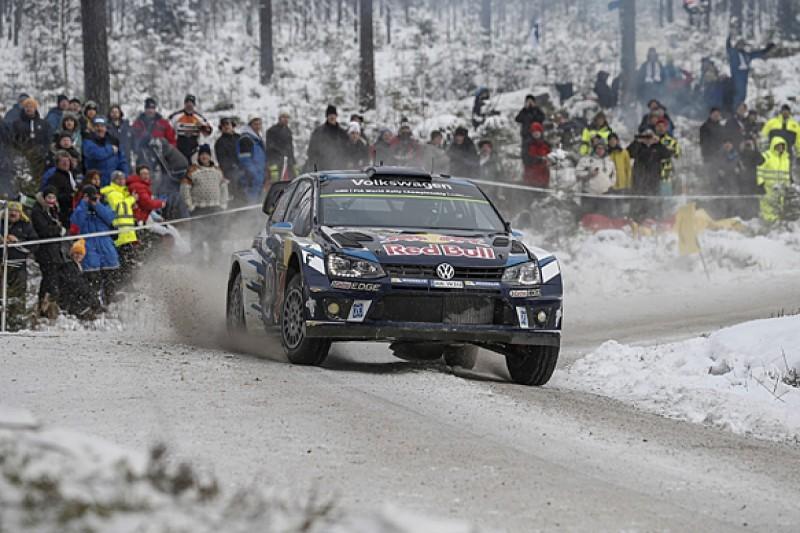 WRC Rally Sweden: Sebastien Ogier beats Hayden Paddon to victory