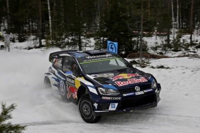 WRC Rally Sweden: Ogier leads, Meeke and Mikkelsen in trouble