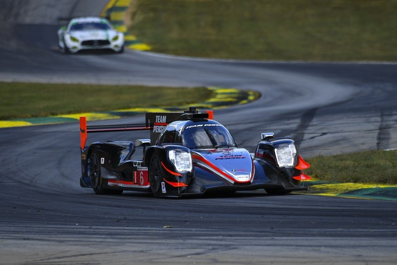 Helio Castroneves gives Penske pole for Petit Le Mans IMSA finale