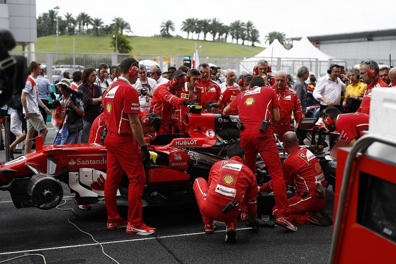 Ferrari says mooted F1 team reshuffle will focus on quality control