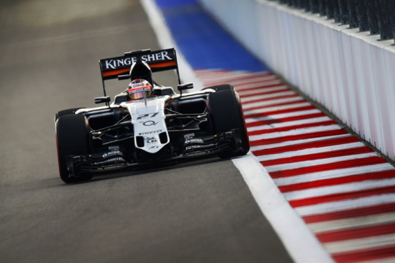 Force India's 2015 B-spec a strong base for '16, Hulkenberg feels