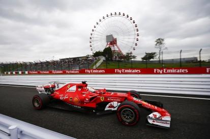 Sebastian Vettel leads crash-interrupted first Japanese GP practice