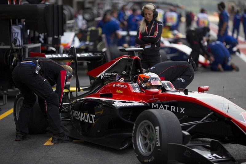 Aitken wants minimal 'alien' feel back in GP3 after Renault F1 test