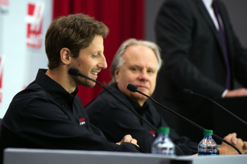 Romain Grosjean assured by first Haas simulator experience