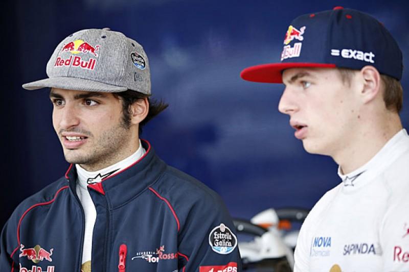 Driver rivalry pushing Toro Rosso forward in F1 - Carlos Sainz Jr