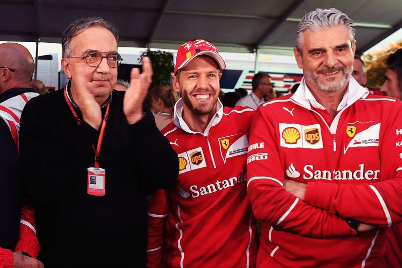 No major changes at Ferrari by Marchionne this week - Vettel