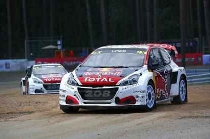 Peugeot commits to 2018 World Rallycross season with Sebastien Loeb