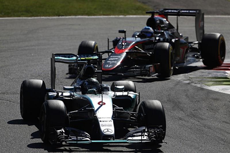 Mercedes expects Ferrari and Honda to close during 2016 F1 season