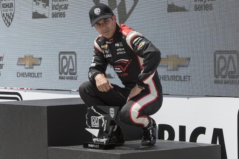Helio Castroneves switches from IndyCar to IMSA with Penske for 2018