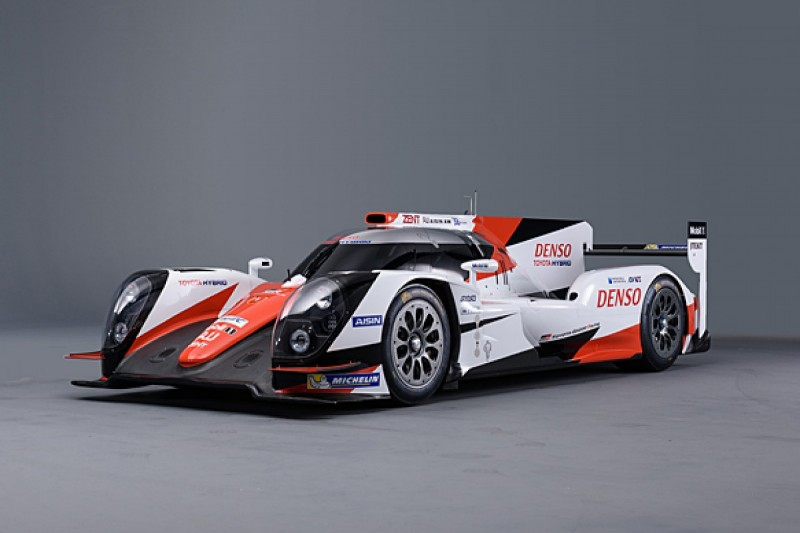 Toyota reveals new LMP1 livery for 2016 WEC season