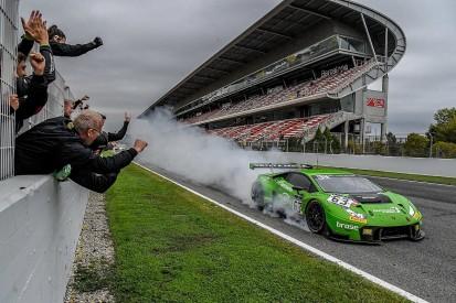 Grasser Lamborghini crew take Blancpain Endurance title