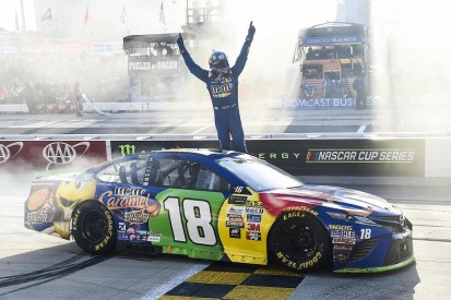 Dover NASCAR: Kyle Busch denies Chase Elliott first win late on