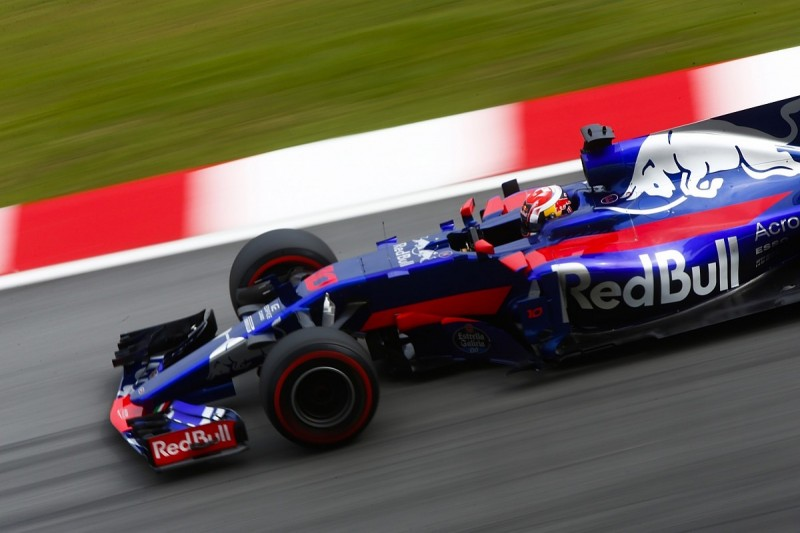 Pierre Gasly suffered back pain on F1 race debut in Malaysia