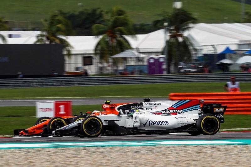 Malaysian GP: Williams's place swap allowed Stoffel Vandoorne past