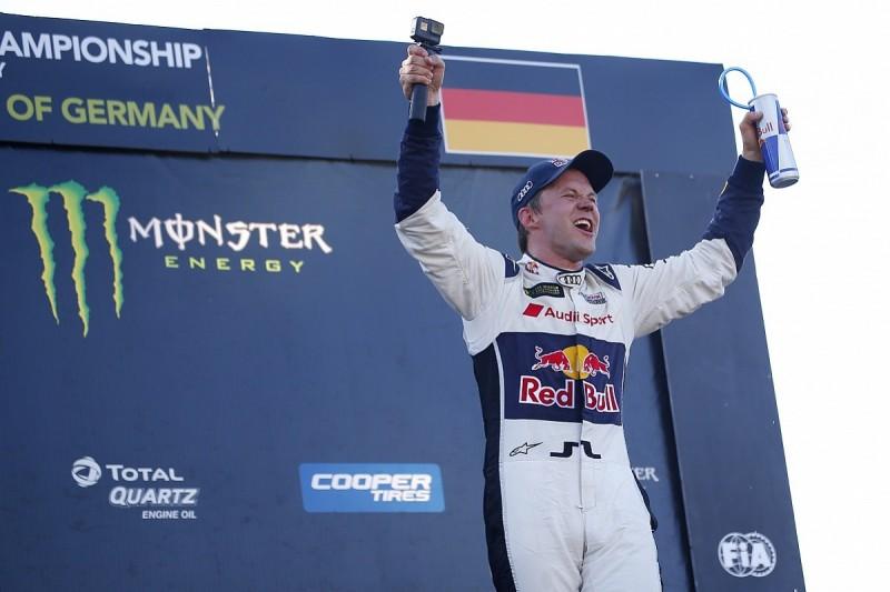 WRX Germany: Ekstrom dominates to take his fourth win of the season