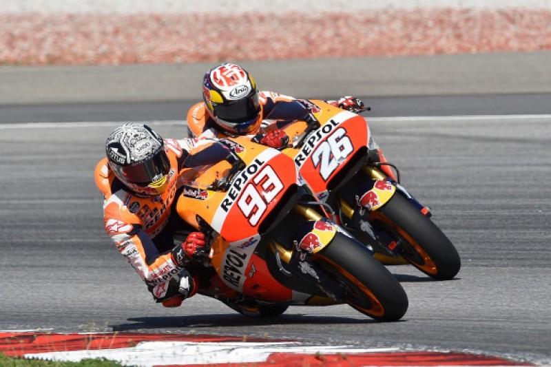 Honda faces tough MotoGP pre-season says Marc Marquez