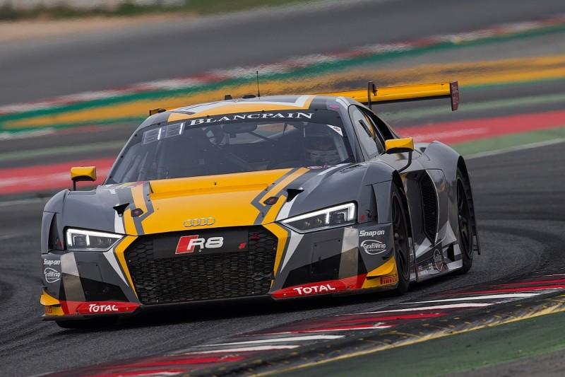 Barcelona Blancpain GT: Frijns on pole, points leader Bentley 28th