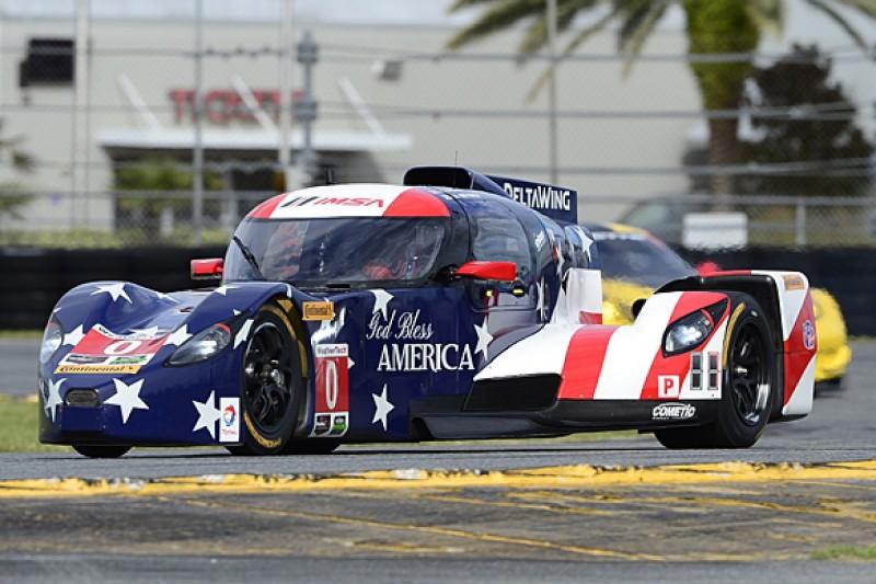 Daytona 24 Hours: DeltaWing leads practice with Katherine Legge