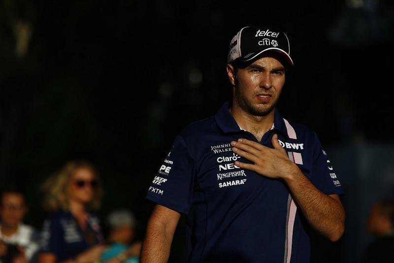 Unwell Sergio Perez facing massive challenge in F1 Malaysian GP